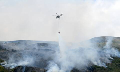 Φωτιά ΤΩΡΑ στη Βόνιτσα - Επιχειρούν ισχυρές πυροσβεστικές δυνάμεις
