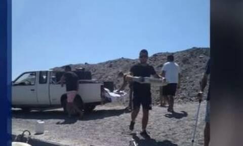 Φρεγάτα «ΛΗΜΝΟΣ»: Η συγκινητική κίνηση Κρητικών προς το πλήρωμα - Δείτε τι τους έδωσαν (vid)