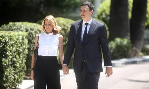 Ο Βασίλης Κικίλιας - Τζένη Μπαλατσινού: Το φύλο του μωρού που περιμένουν
