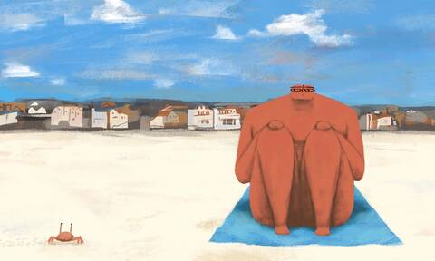 Η ιστορία μιας... πετσέτας θαλάσσης μπορεί να αλλάξει τον κόσμο (vid)