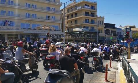 Κρήτη: Μηχανοκίνητη πορεία κατά των νέων μέτρων για τον κορονοϊό