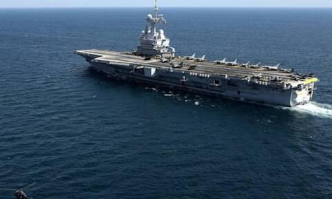 Γαλλικά ΜΜΕ: Το αεροπλανοφόρο Charles de Gaulle έρχεται σύντομα στην Αν. Μεσόγειο!