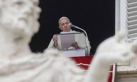 Πάπας Φραγκίσκος: Ανησυχώ για τις εντάσεις στην Ανατολική Μεσόγειο