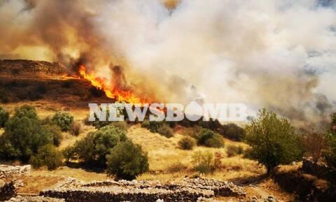 Το Newsbomb.gr στις Μυκήνες: Αποκαρδιωτικές εικόνες - Η δραματική μάχη για να σωθούν οι αρχαιότητες