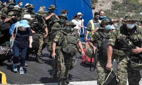 Καστελόριζο: Τι απαντά η Αθήνα στην Αγκυρα για τους στρατιώτες στο νησί