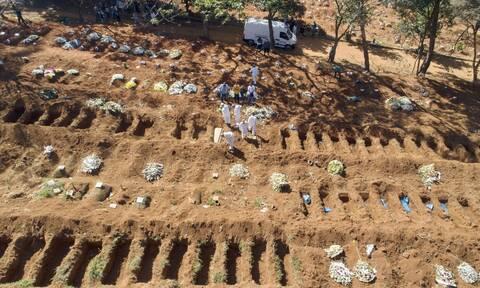Κορονοϊός στη Βραζιλία: Ξεπέρασαν τους 121.000 οι νεκροί από COVID-19