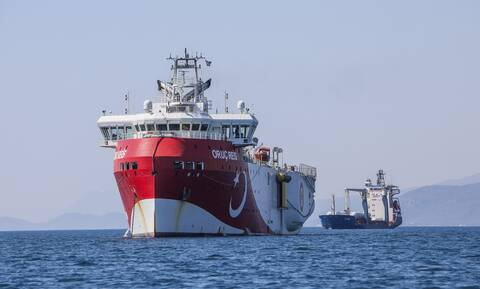 Oruc Reis: Με αντι-NAVTEX απαντά η Ελλάδα στη νέα παράνομη τουρκική NAVTEX