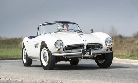 H BMW 507 Roadster τους τέως βασιλιά Κωνσταντίνου πωλείται και πάλι