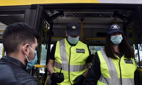 Two arrests, nine fines for violation of measures and 313 fines for non-use of face masks on Monday