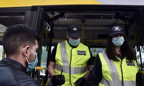 Κορονοϊός - Σαρωτικοί έλεγχοι για τα μέτρα: 313 παραβάσεις για μη χρήση μάσκας
