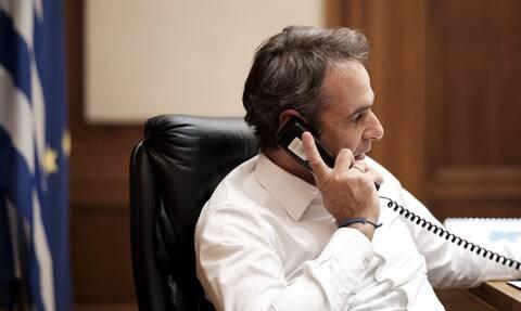 Τηλεφωνική επικοινωνία Μητσοτάκη με τον Σεΐχη του Άμπου Ντάμπι