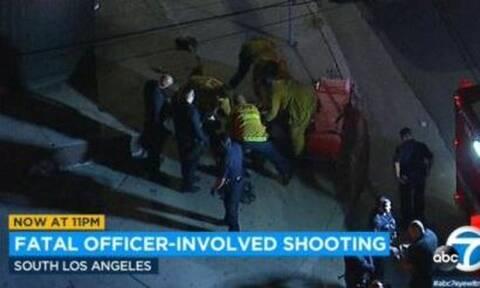 ΗΠΑ: Βίντεο σοκ! Αφροαμερικανός σκοτώθηκε από την αστυνομία στο Λος Άντζελες