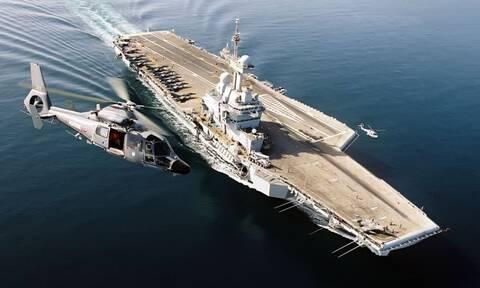 «Ασπίδα» Σαρλ ντε Γκολ στην ανατολική Μεσόγειο - Κοινές ασκήσεις με ελληνικά πλοία και αεροσκάφη