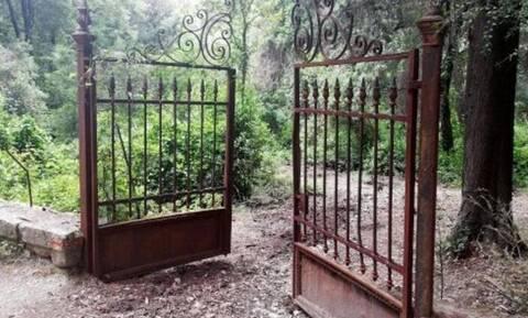 Βανδαλισμοί στους τάφους του Παύλου και της Φρειδερίκης στο Τατόι