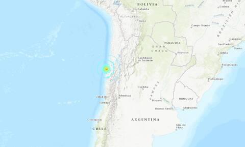 Ισχυρός σεισμός 6,5 Ρίχτερ στη Χιλή
