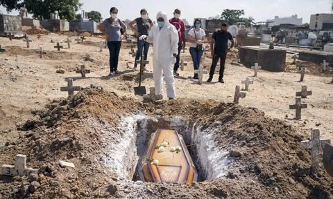 Κορονοϊός στη Βραζιλία: Σχεδόν 4 εκατ. τα κρούσματα - Πάνω από 122.000 οι νεκροί