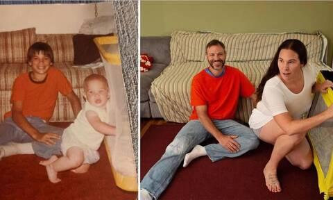 Αυτές οι αναπαραστάσεις από παιδικές φωτογραφίες είναι απίθανες