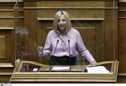 Βουλή: Τη Δευτέρα η προ ημερησίας διατάξεως συζήτηση για την πανδημία που ζήτησε η Γεννηματά