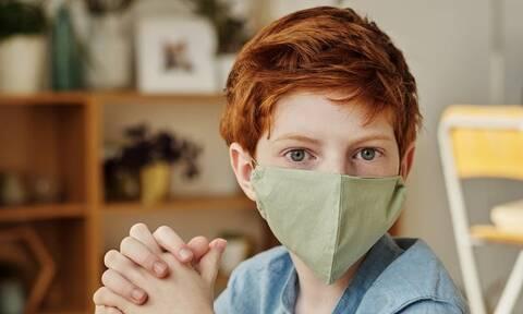 Έτσι θα φορούν τη μάσκα στην τάξη τα παιδιά χωρίς να διαμαρτύρονται