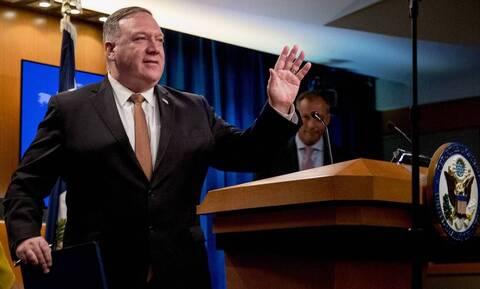 Νέα παρέμβαση των ΗΠΑ για την ανατολική Μεσόγειο - Έκκληση Πομπέο να μειωθούν οι εντάσεις