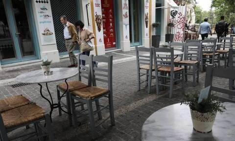 Κορονοϊος:Επανεξέταση των μέτρων για τους εξωτερικούς κοινόχρηστους χώρους ζητούν οι επιχειρηματίες