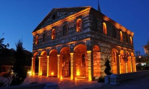 Κατέρρευσε ο ναός του Αγίου Γεωργίου στην Προύσα