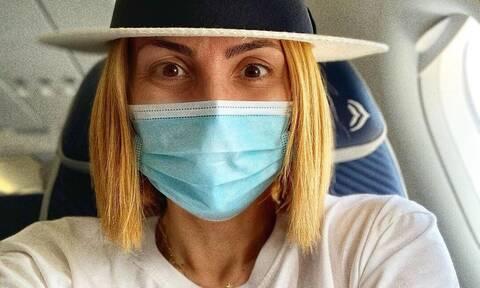 Κορονοϊός: Για τεστ η Μαρία Ηλιάκη αμέσως μόλις επέστρεψε από την Ελβετία