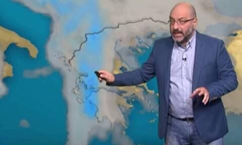 Ο καιρός μέχρι την Κυριακή! Τι προβλέπει ο Σάκης Αρναούτογλου (video)