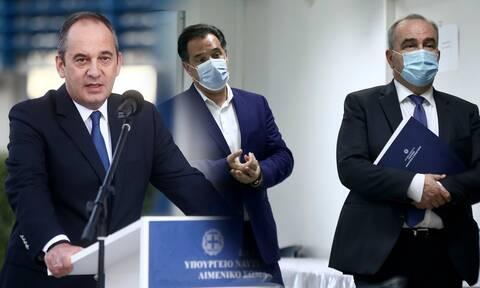 Κορονοϊός: Τρεις υπουργοί σε καραντίνα - Μετά τους Άδωνι-Παπαθανάση και ο Πλακιωτάκης