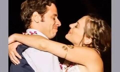 Αλεξάνδρα Ούστα: Σπάνιες φωτογραφίες απ' τον ονειρεμένο γάμο της