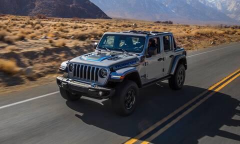 To πιο κλασικό των Jeep, το Wrangler, γίνεται plug-in υβριδικό