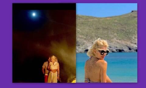 Παντζόπουλος: Το μοναδικό βίντεο από την ρομαντική βραδιά του με την Μενεγάκη