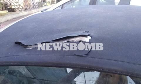 Χίος: Βανδάλισαν αυτοκίνητα για την μετατροπή της ΒΙ.ΑΛ. σε κλειστή δομή