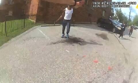 Η.Π.Α.: Νέο βίντεο δολοφονίας Αφροαμερικανού από αστυνομικούς