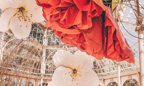Το Palacio de Cristal στη Μαδρίτη άνοιξε ξανά με εντυπωσιακό concept