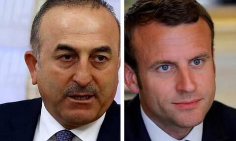Επίθεση Τσαβούσογλου σε Μακρόν: Έχει υστερική συμπεριφορά σε Συρία, Λιβύη και Αν. Μεσόγειο