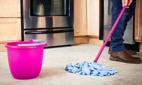 Τόσο καιρό σφουγγαρίζεις ΛΑΘΟΣ το σπίτι σου