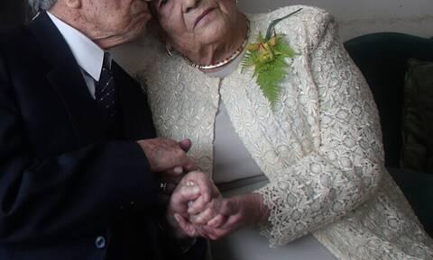Αυτό είναι το μεγαλύτερο ηλικιακά ζευγάρι του κόσμου
