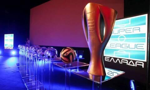 Super League: Κλήρωση μετά κόπων και βασάνων - Πρεμιέρα με... κενά στο νέο πρωτάθλημα (photo)