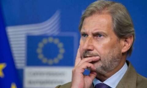 ΕΕ: Ο Επίτροπος Προϋπολογισμού της ΕΕ Γιοχάνες Χαν προωθεί τα ευρωομόλογα για τον κορονοϊό