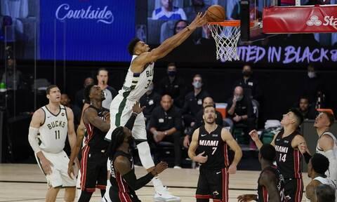 NBA: Ετοιμάζει τη «σκούπα» το Μαϊάμι - Έκανε το 3-0 απέναντι στο Μιλγουόκι
