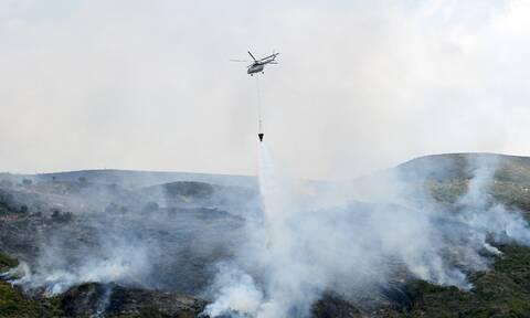 Κεφαλονιά: Σε ύφεση η φωτιά - Επέστρεψαν στα σπίτια τους οι κάτοικοι στο Καπανδρίτι