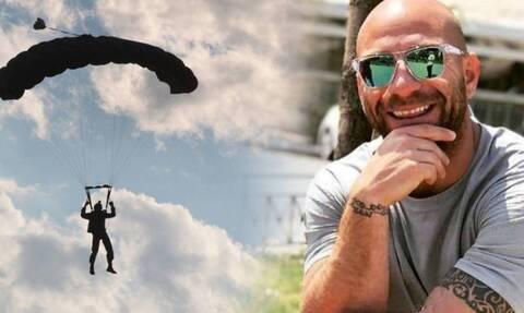 Αντίο «αετέ»! Ράγισαν καρδιές στην κηδεία του αδικοχαμένου αλεξιπτωτιστή Κώστα Μελιγκώνη