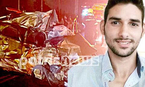 Τραγωδία στην Πύργου-Πατρών - Νεκρός 26χρονος σε φρικτό τροχαίο