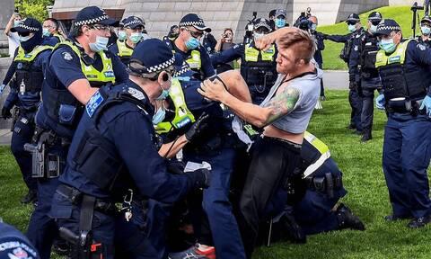 Κορονοϊός στην Αυστραλία: Διαδηλώσεις κατά του lockdown σε Μελβούρνη και Σίδνεϊ