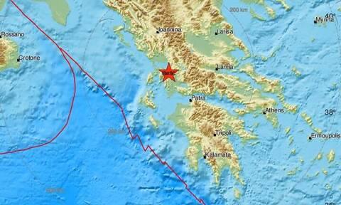 Σεισμός ΤΩΡΑ κοντά στην Αμφιλοχία