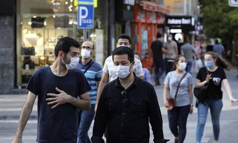 Κορονοϊός στην Τουρκία: 1.673 κρούσματα και 56 θάνατοι σε 24 ώρες