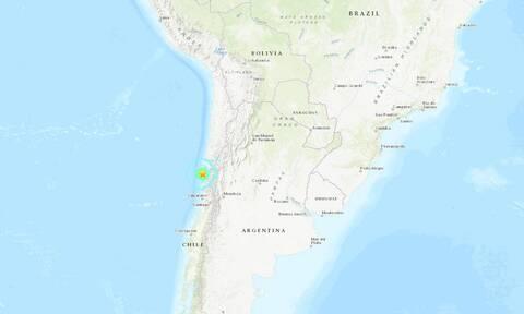 Ισχυρός σεισμός 6,4 Ρίχτερ στη Χιλή