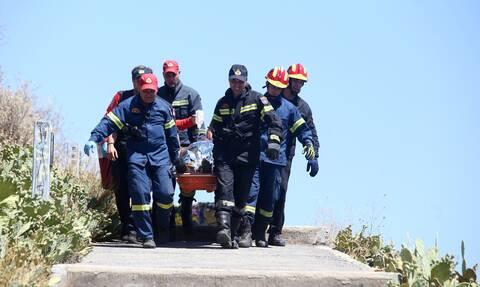 Εύβοια: Αγωνία για περιπατητή που τραυματίστηκε σοβαρά