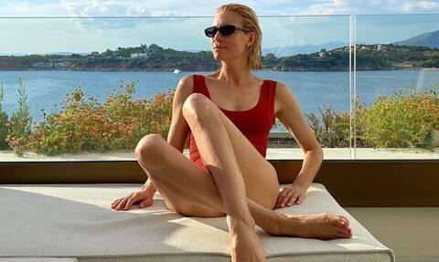Βίκυ Καγιά: Φόρεσε το πιο στιλάτο παντελόνι για το φθινόπωρο